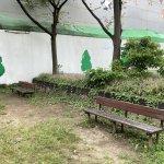 【中津駅】中津東公園の休憩場所