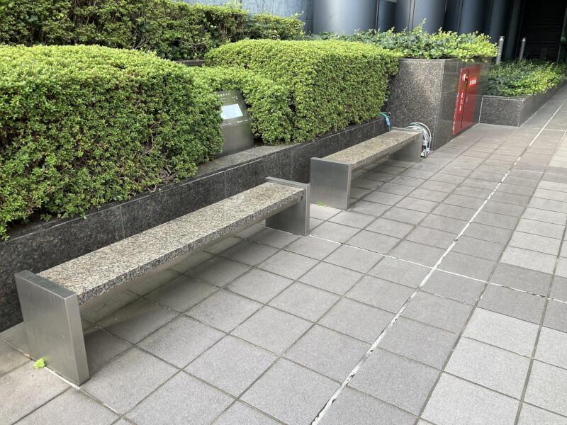 【新大阪駅】セントラル新大阪ビルの休憩場所1