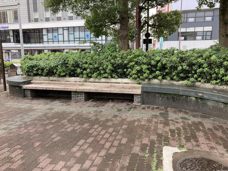 【徳島駅】徳島バスのりば近くの休憩場所3