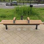 【南公園駅】南公園駅前の休憩場所