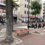 【江坂駅】池田泉州銀行まえの休憩場所