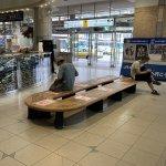 【徳島駅】改札口を出てみどりの窓口付近の休憩場所