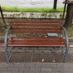 【南公園駅】バンドー青少年科学館前の休憩場所