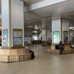 【福知山駅】改札前コンコースの休憩場所