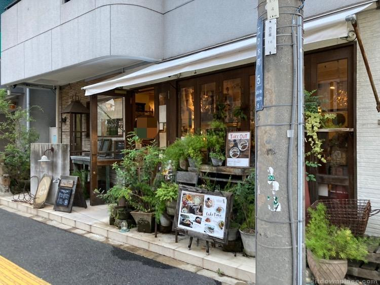 【江坂駅】江の木公園の休憩場所4