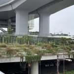 【舞子駅】南口の広場先の明石海峡に面したの休憩場所