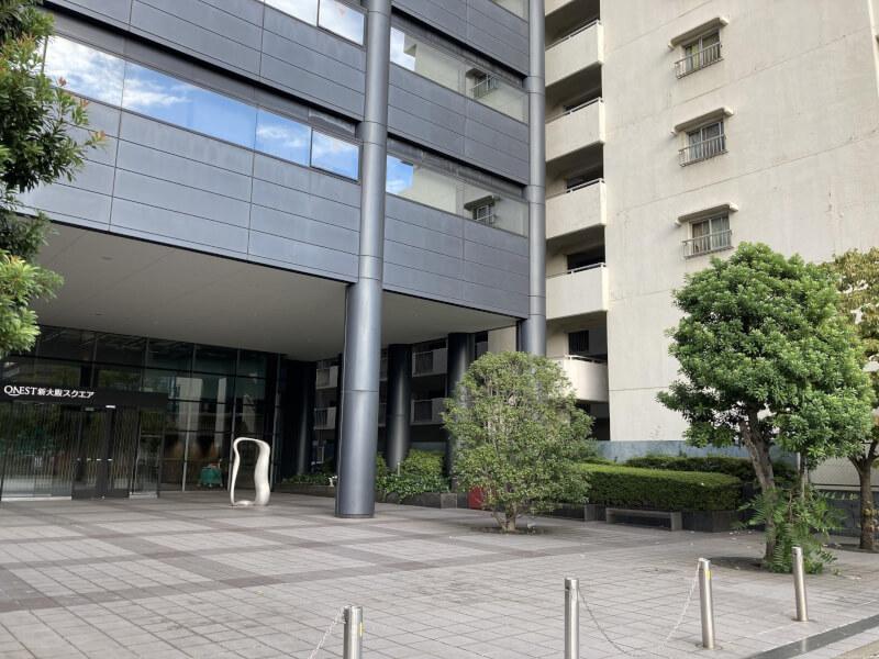 【新大阪駅】セントラル新大阪ビルの休憩場所2