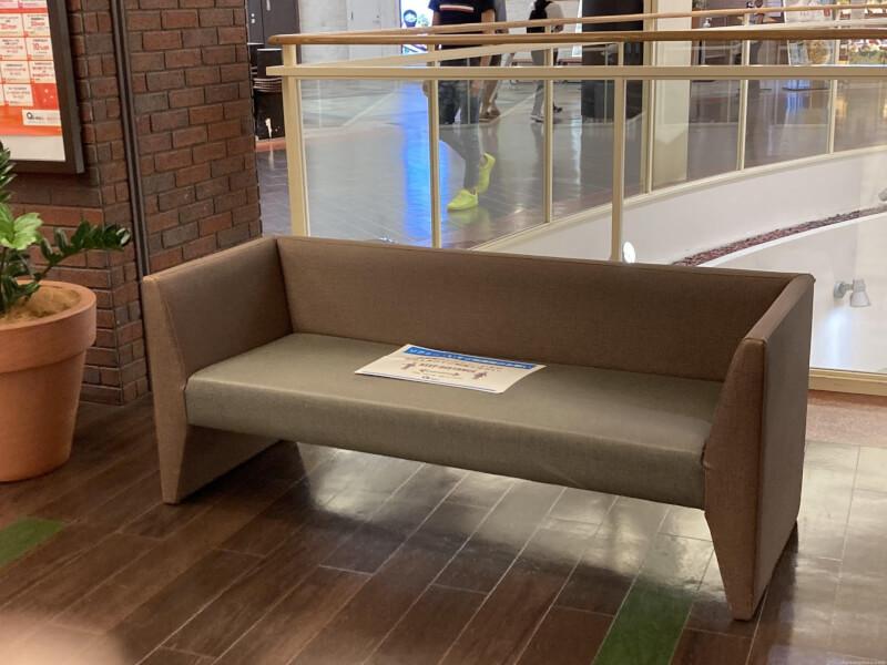 【尼崎駅】あまがさきキューズモール4Fの休憩場所6