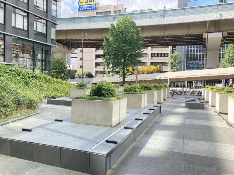 【大阪梅田駅】梅田ゲートタワーの休憩場所2