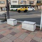 【須磨駅】駅前通りの休憩場所