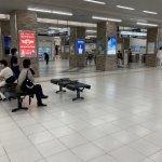 【山陽明石駅】【JR明石駅】北出口改札前コンコースの休憩場所