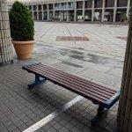【市民広場駅】市民広場通路下の休憩場所