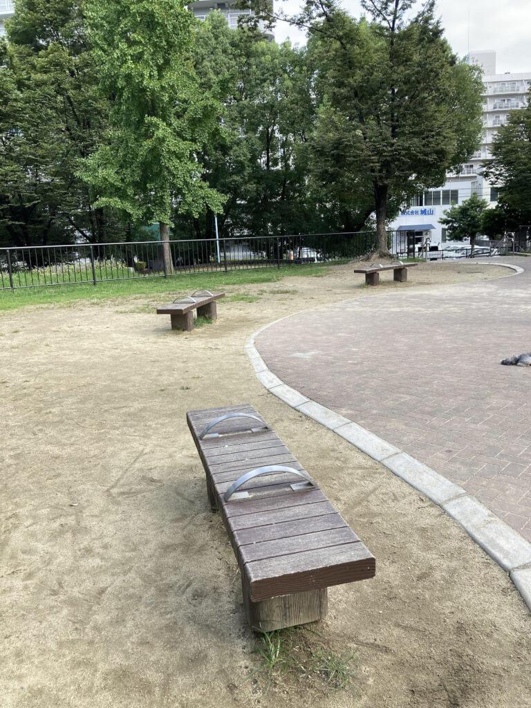 【東三国駅】北中島公園の休憩場所1