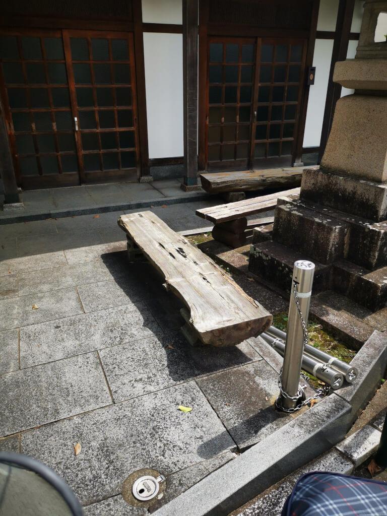 【清荒神駅】清荒神鳥居前の休憩場所2