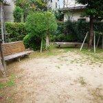 【宝塚駅】川面3丁目記念公園の休憩場所