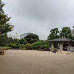 【両国駅】旧安田庭園の休憩場所