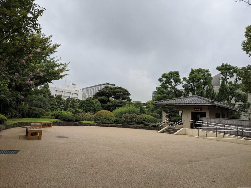【両国駅】旧安田庭園の休憩場所4