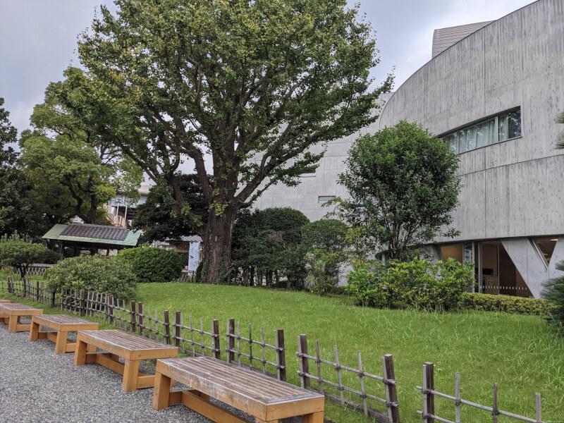 【両国駅】旧安田庭園の休憩場所3