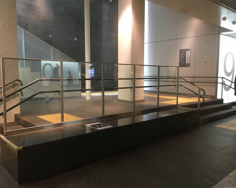 【さっぽろ駅】札幌 地下歩行空間の各出口の休憩場所1