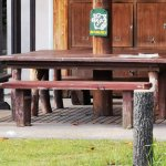 【売布神社駅】花のテラスの休憩場所