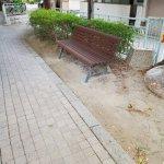 【清荒神駅】花のみち(手塚治虫記念館から市役所)の休憩場所